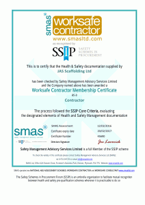 JAS Certificate  16  -1