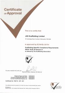 JAS Scaffolding IQ certificate-1