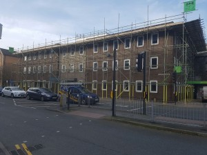 Scaffold to Kendle Job Centre